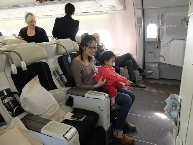 flying with baby 1