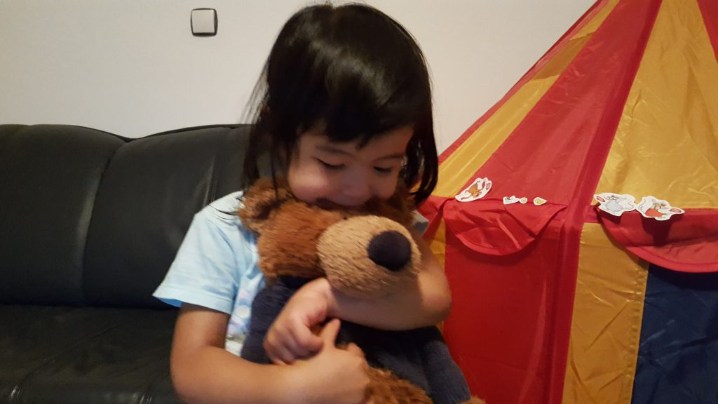 love my teddy bear