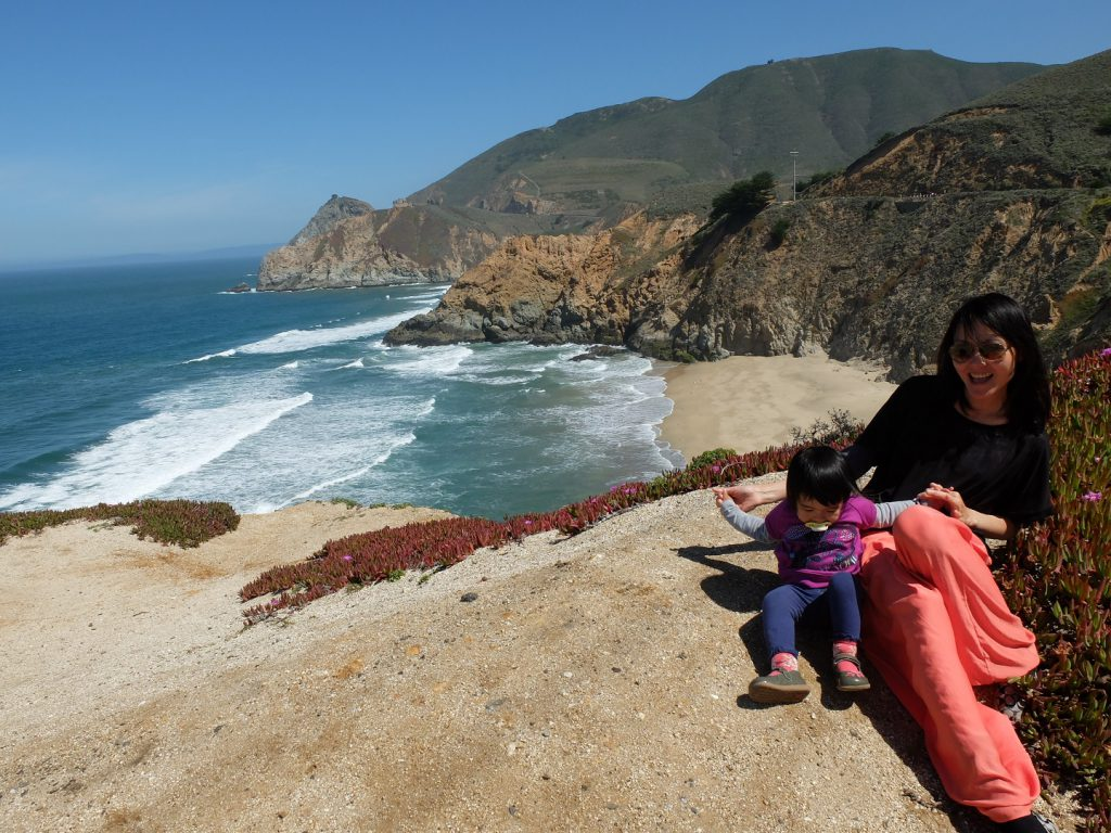 big sur mum & daughter