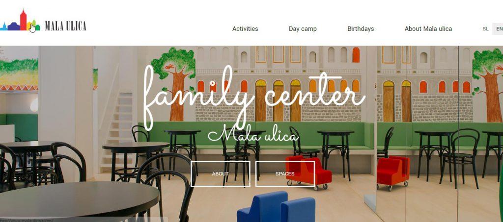 Malaulica ljubljana website