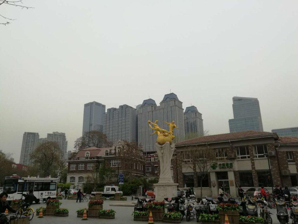 plaza in Tianjin