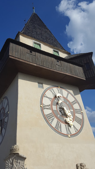 Graz clock tower - UHRTURM