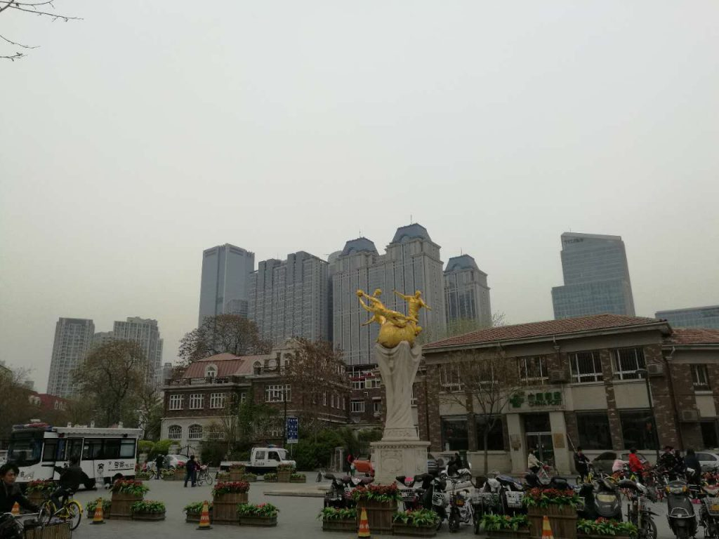 plaza in Tianjin