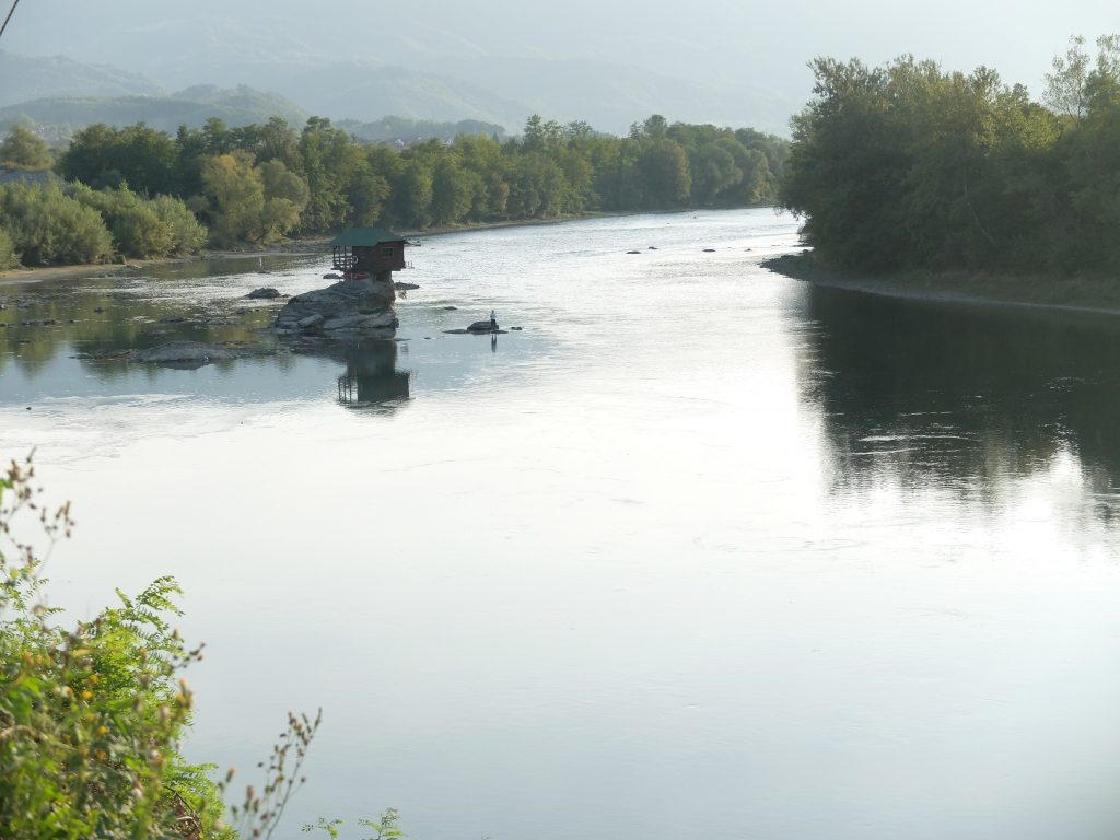 the house on the Drina
