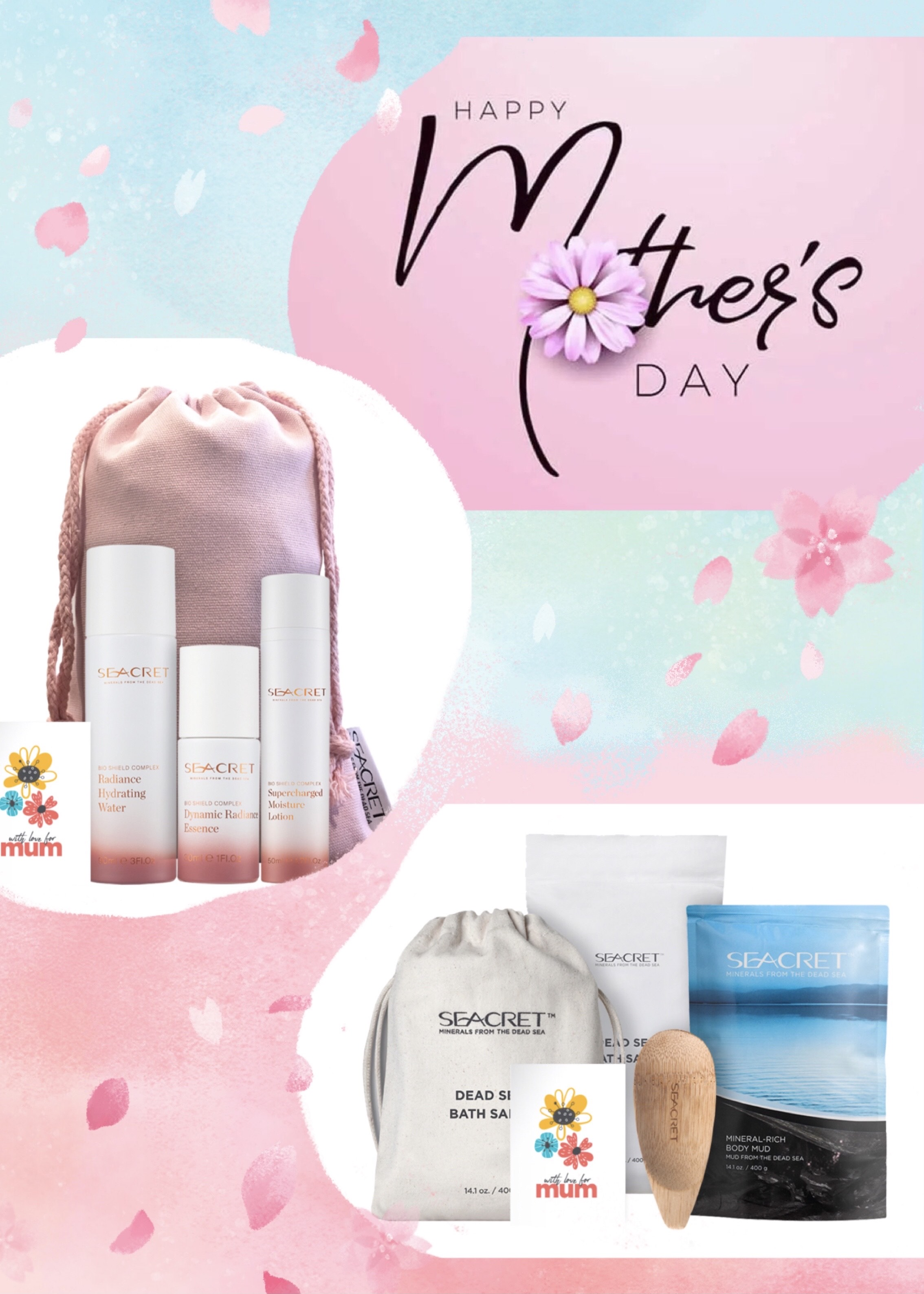 mother's day gifts idea from the Dead Sea